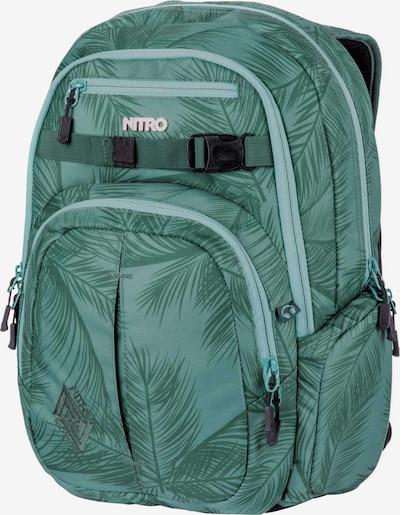 NITRO Rucksack 'Chase' in smaragd / mint / schwarz, Produktansicht