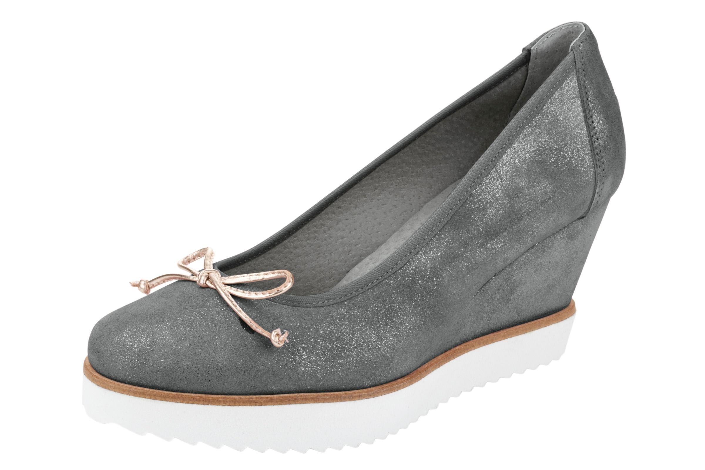 heine Keilpumps Verschleißfeste billige Schuhe Hohe Qualität