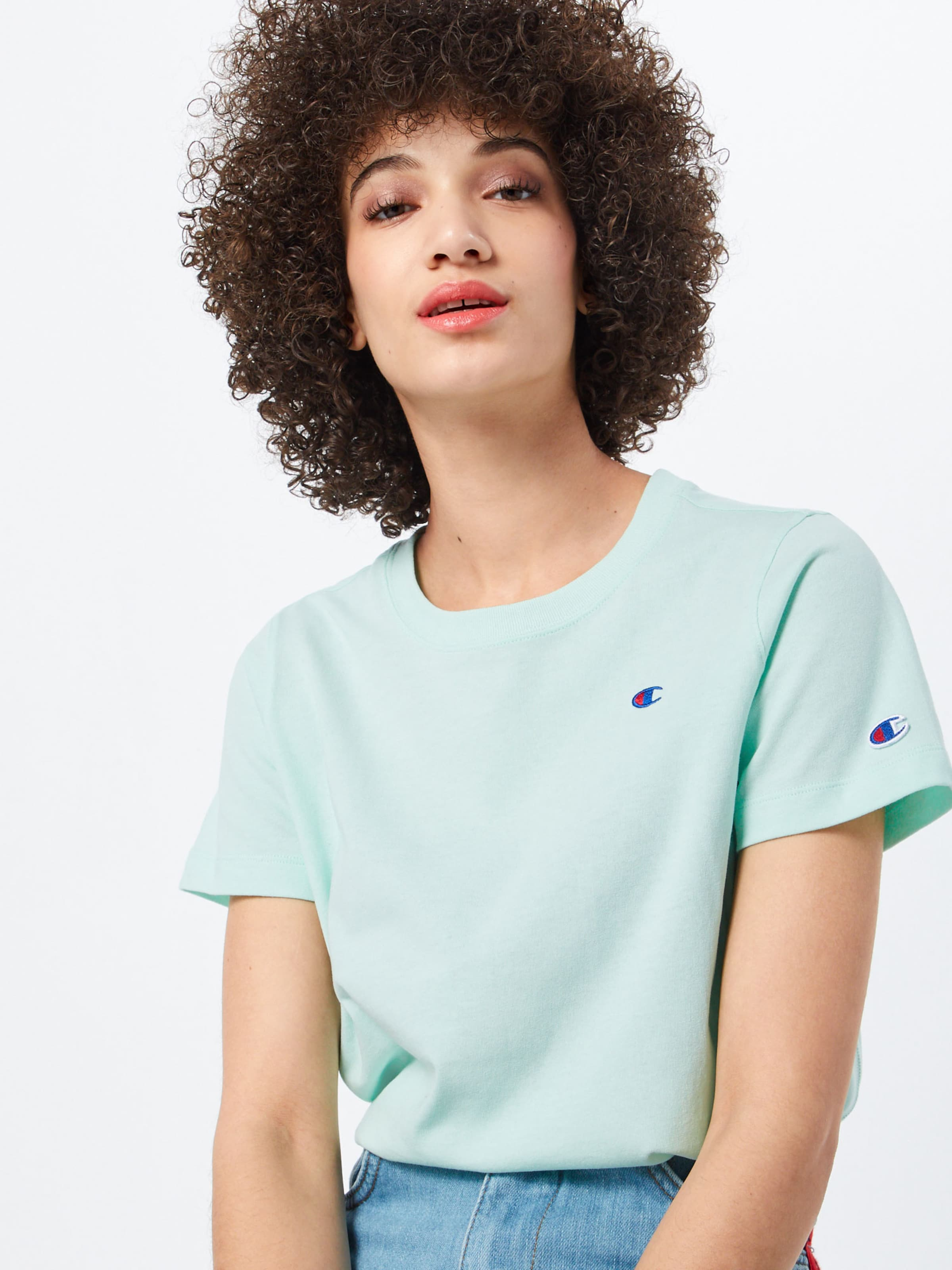 Reverse Mint Champion In Weave Shirt vI6gybfY7