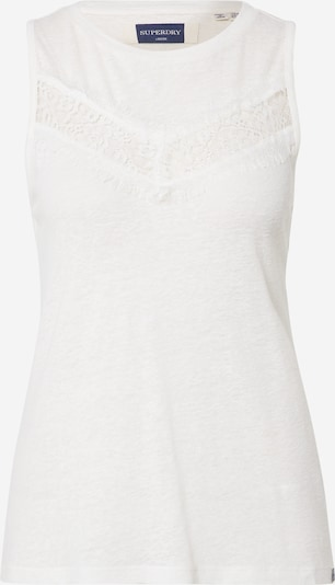 Superdry Top 'CHEVRON' in White, Item view