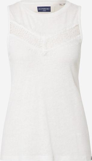 Superdry Top 'CHEVRON' u bijela, Pregled proizvoda
