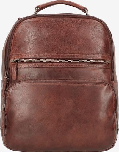 GREENBURRY Rucksack 'Vintage Washed' in braun, Produktansicht