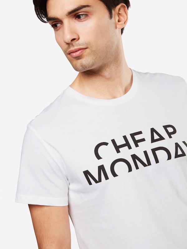 CHEAP MONDAY T-Shirt 'Standard tee Spliced cheap'