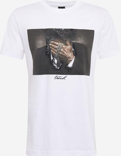 Mister Tee T-Krekls 'Trust', krāsa - jauktu krāsu / balts, Preces skats