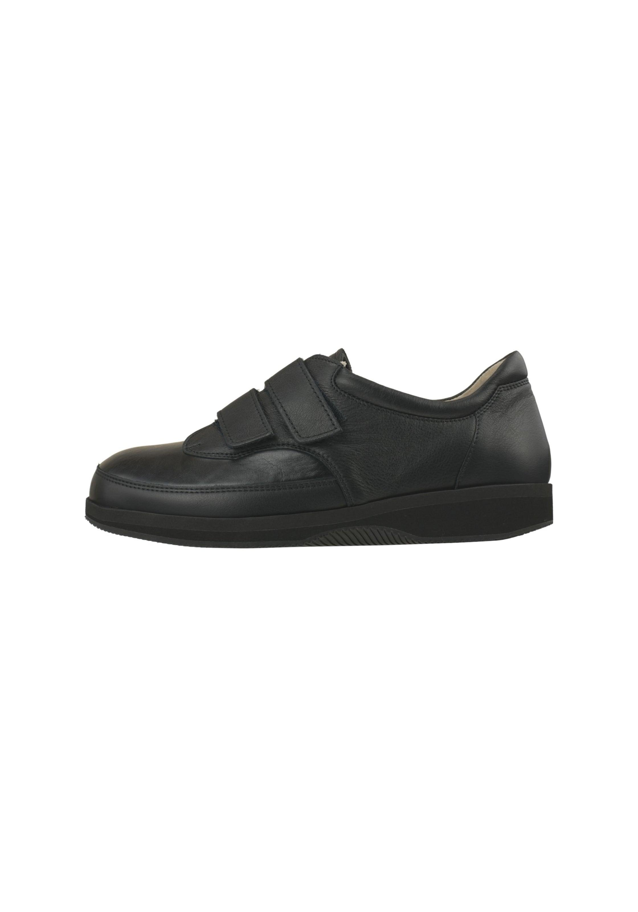 Natural Feet Klettschuh 'Stockholm' in schwarz