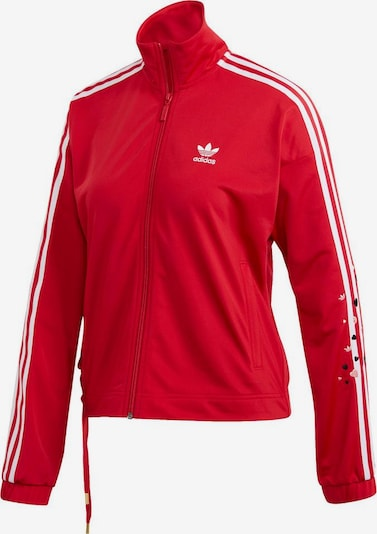 ADIDAS ORIGINALS Trainingsjacke 'TRACK TOP' in rot, Produktansicht