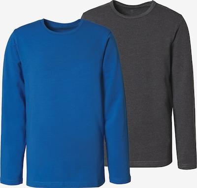 MINYMO T-Shirt in blau / anthrazit, Produktansicht