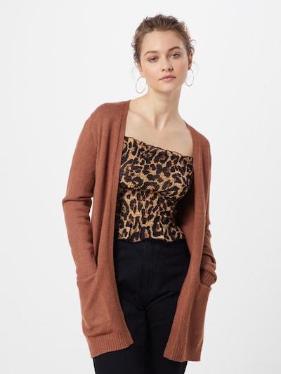VILA Cardigan 'Ril' in braun, Modelansicht