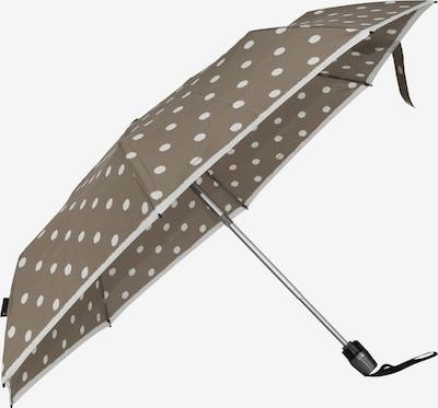 KNIRPS Regenschirm in brokat / weiß, Produktansicht