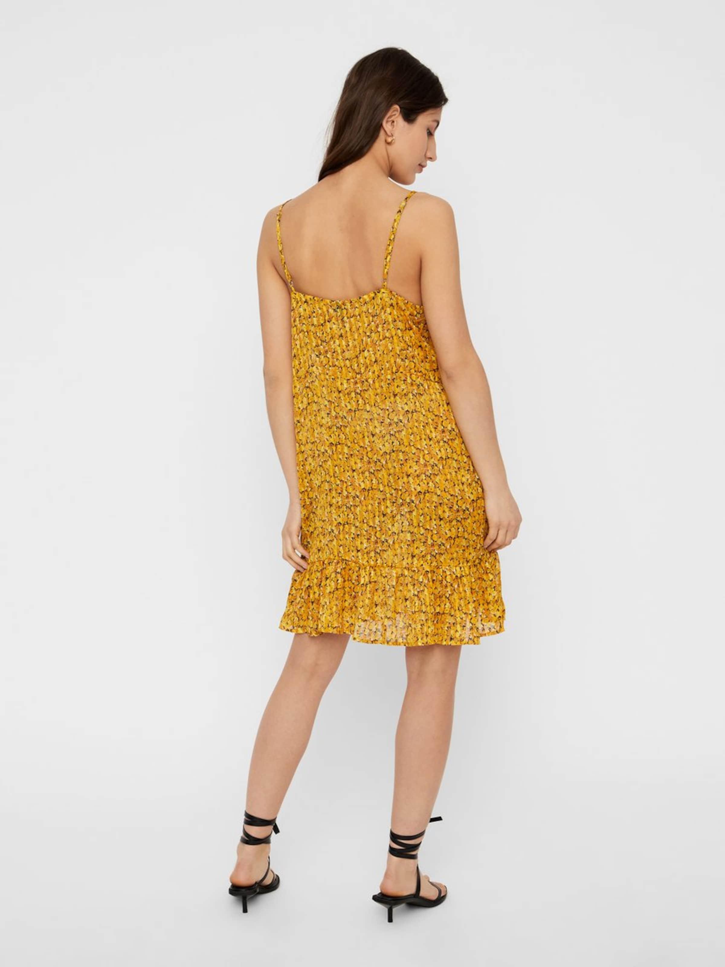 a Cami Y s Kleid In GoldgelbMischfarben EDH2W9I