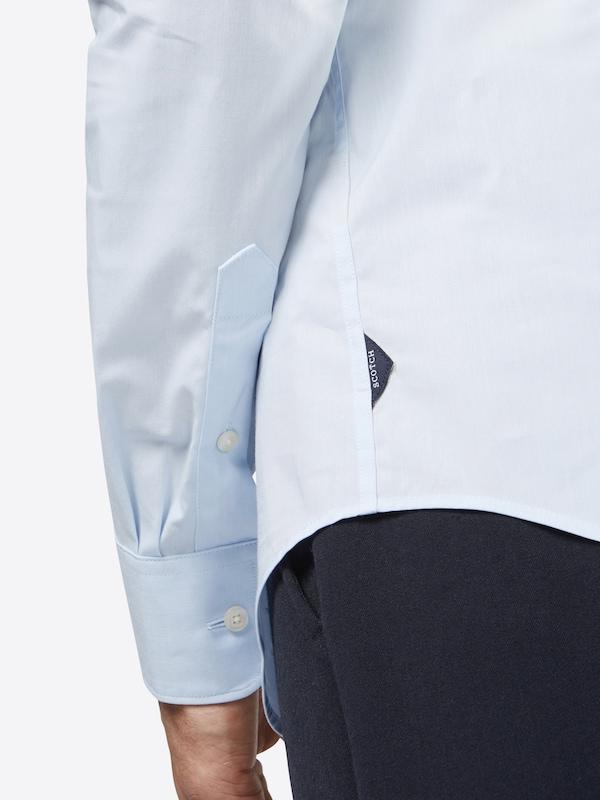 SCOTCH & SODA Hemd 'NOS - Classic longsleeve shirt in crispy cotton/lycra qualit'