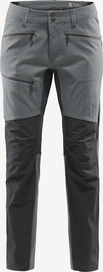 Sportinės kelnės 'Rugged' iš Haglöfs , spalva - pilka / juoda, Prekių apžvalga