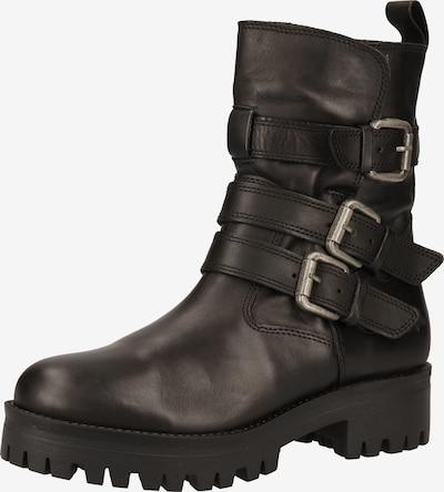 BUFFALO Boots 'MAUVE MORN' en noir: Vue de face