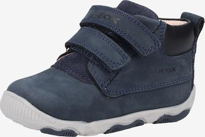 GEOX Baskets en bleu cobalt / bleu-gris: Vue de face
