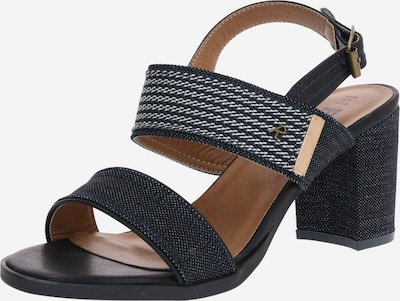 Refresh Sandalen in navy, Produktansicht