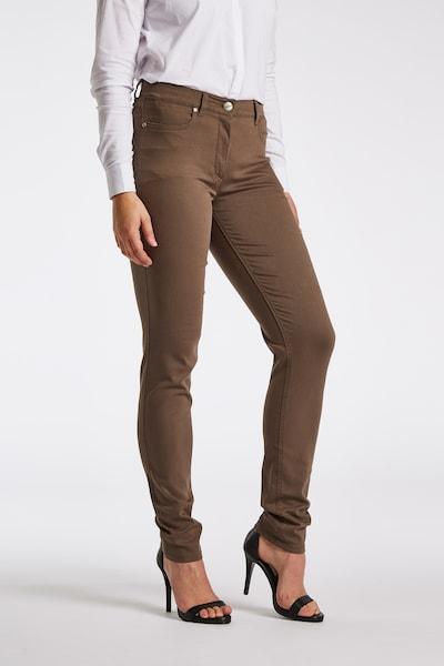LauRie Jeans 'Laura' in de kleur Bruin, Productweergave