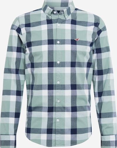 HOLLISTER Košile 'Jun' - šedý melír / pastelově zelená / zelený melír / mix barev / bílá, Produkt
