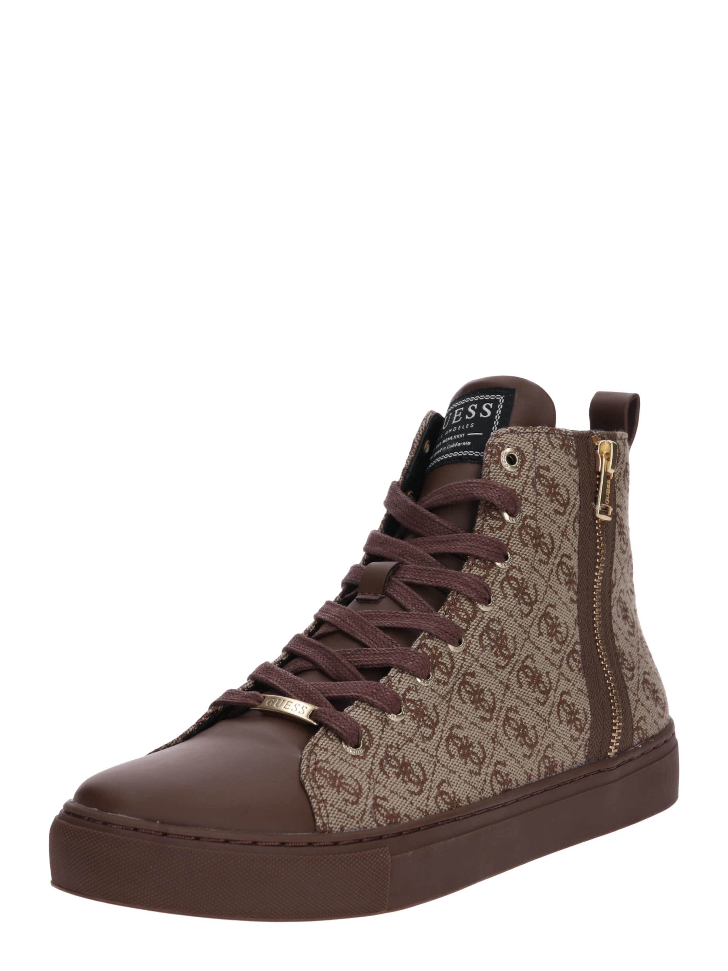 'luiss Mid I' In Sneaker Guess BraunHellbraun uFK513TlJc