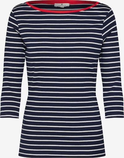 TOM TAILOR Tričko - námornícka modrá / červená / biela, Produkt