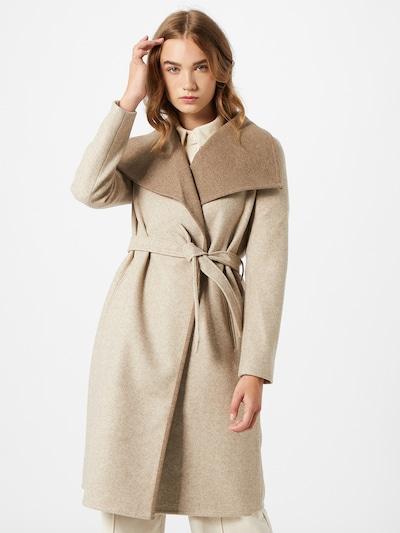 VILA Prechodný kabát 'Bias' - béžová / hnedá, Model/-ka