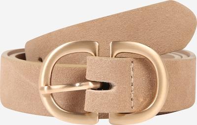 PIECES Gürtel in beige / gold, Produktansicht