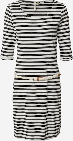 Ragwear Šaty 'TAMY' - černá / bílá, Produkt