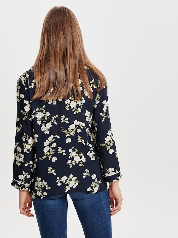 ONLY Langarmhemd Blumen