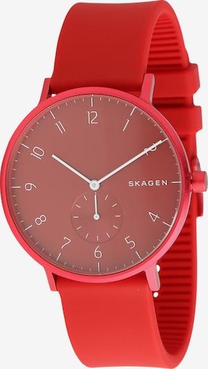 SKAGEN Uhr 'AAREN' in rot, Produktansicht