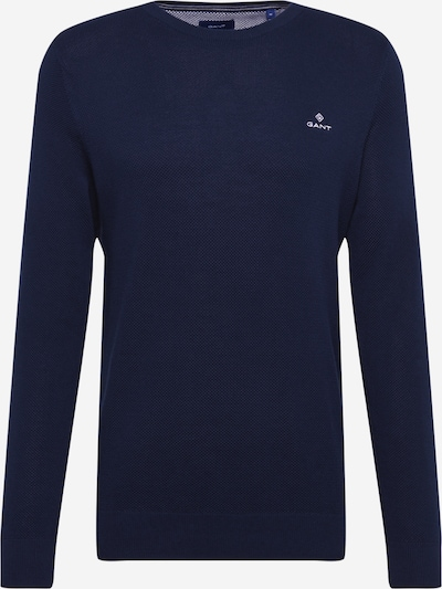 Megztinis iš GANT , spalva - kobalto mėlyna, Prekių apžvalga