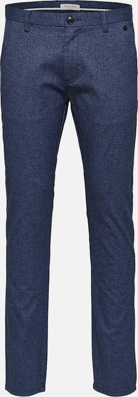 SELECTED HOMME Anzughose in Blau denim  Neuer Aktionsrabatt