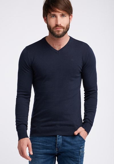 Petrol Industries Pullover in navy: Frontalansicht