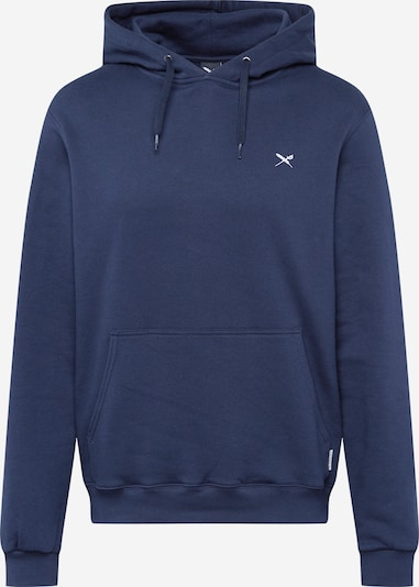 Iriedaily Sweatshirt 'Mini Flag 2' in de kleur Navy: Vooraanzicht