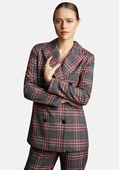 Nicowa Blazer in grau / rot, Modelansicht