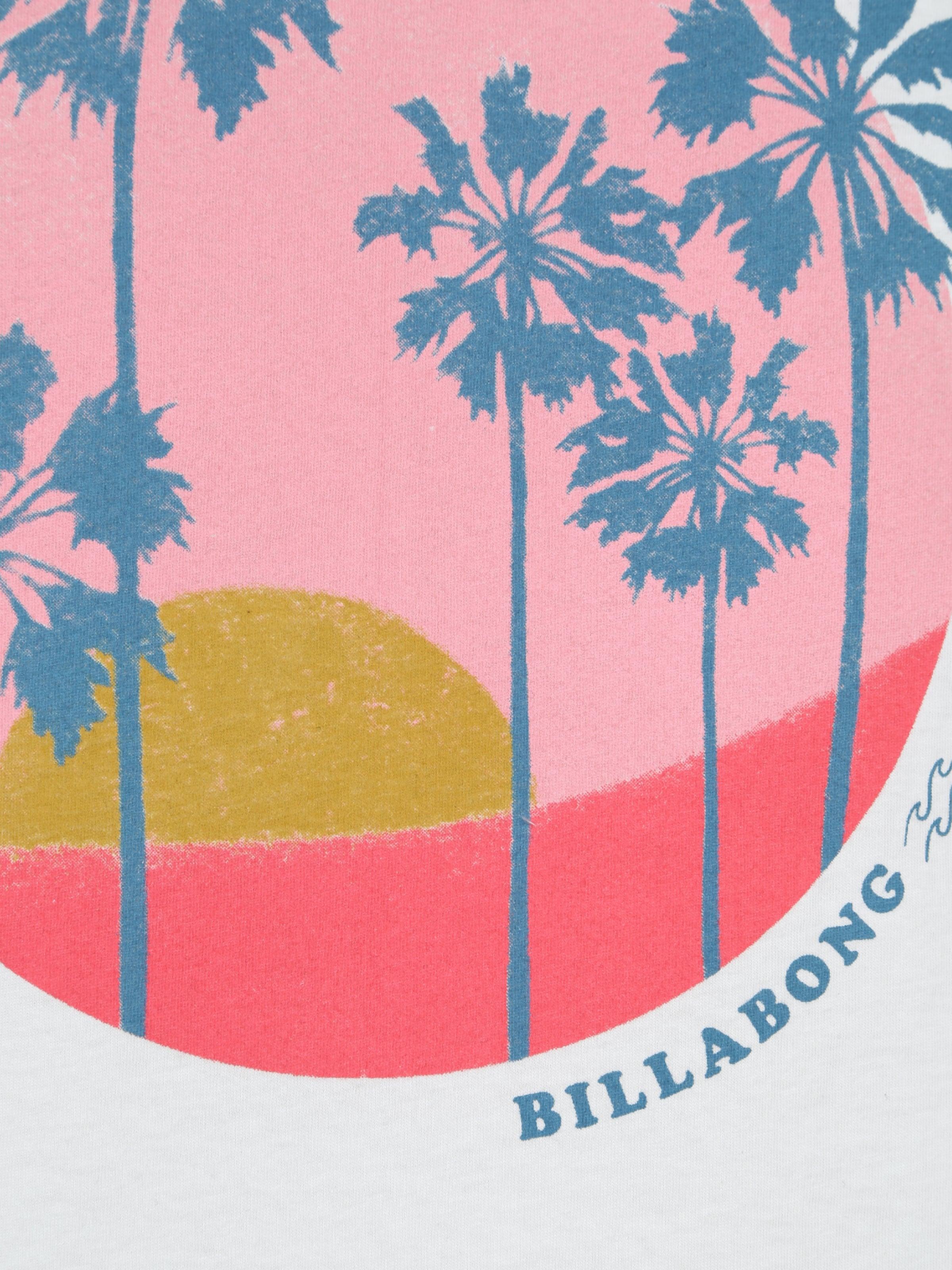 BILLABONG Sporttopp i blå / rosa / vit