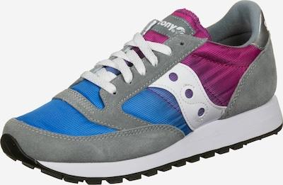 saucony Schuhe 'Jazz' in blau / grau / himbeer / weiß, Produktansicht