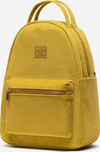 Herschel Sac à dos ' Nova Small ' en moutarde, Vue avec produit