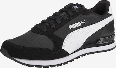PUMA Sneakers 'ST Runner v2' in de kleur Zwart / Wit, Productweergave