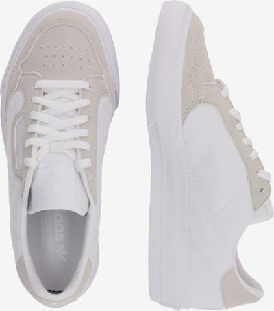ADIDAS ORIGINALS Sneakers 'Continental Vulc J' in de kleur Nude / Wit: Zijaanzicht