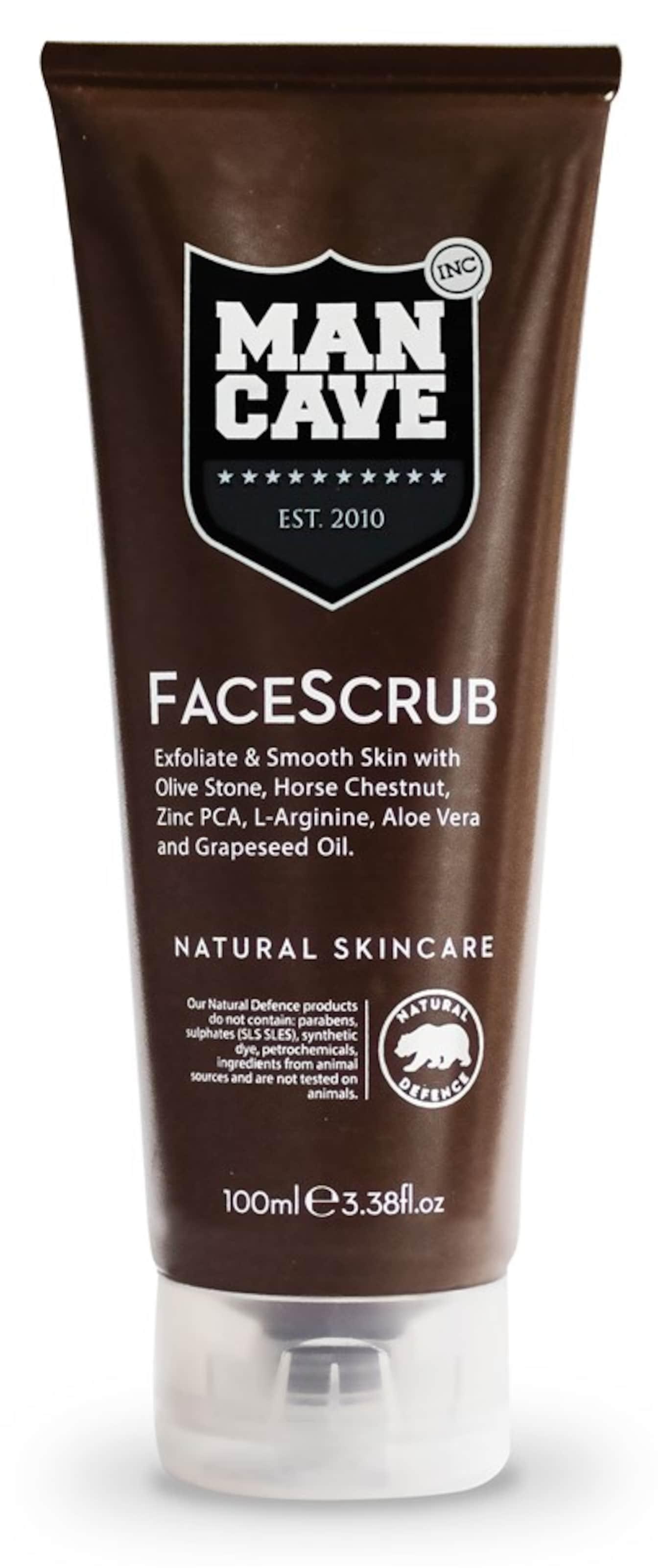 Mancave Männer Für Gesichtspeeling In 'facescrub' Braun IvbymYf76g