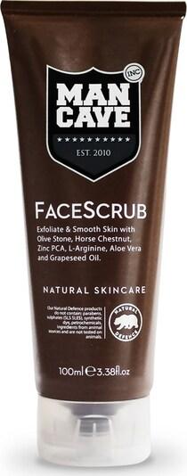 ManCave 'FaceScrub' Gesichtspeeling für Männer in braun, Produktansicht