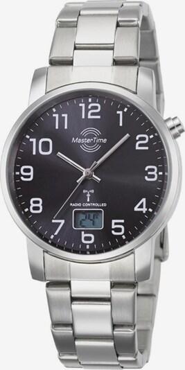 Master Time Funkuhr 'Basic, MTGA-10694-21M' in schwarz / silber, Produktansicht