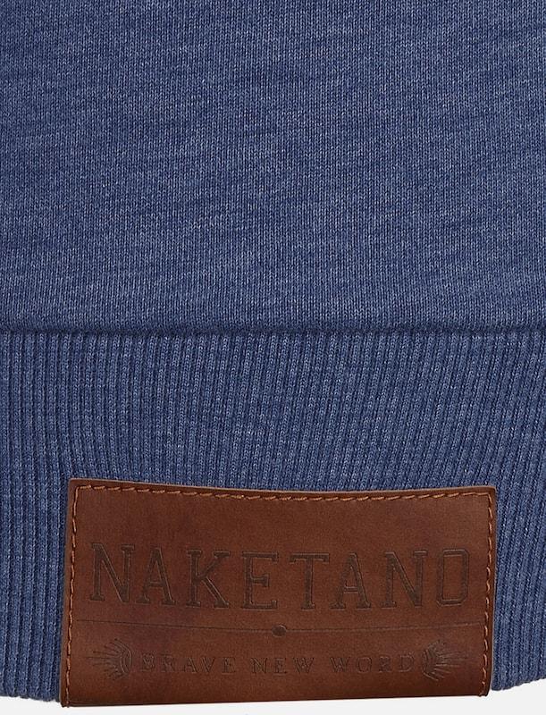Naketano Hoodie 'No More Pain' in blau  Mode Mode Mode neue Kleidung 663e08