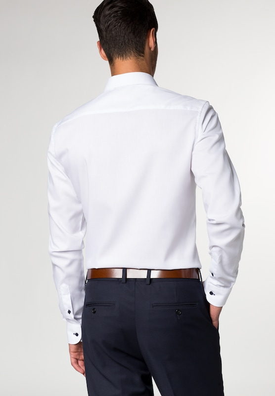 ETERNA Langarm Hemd SLIM FIT