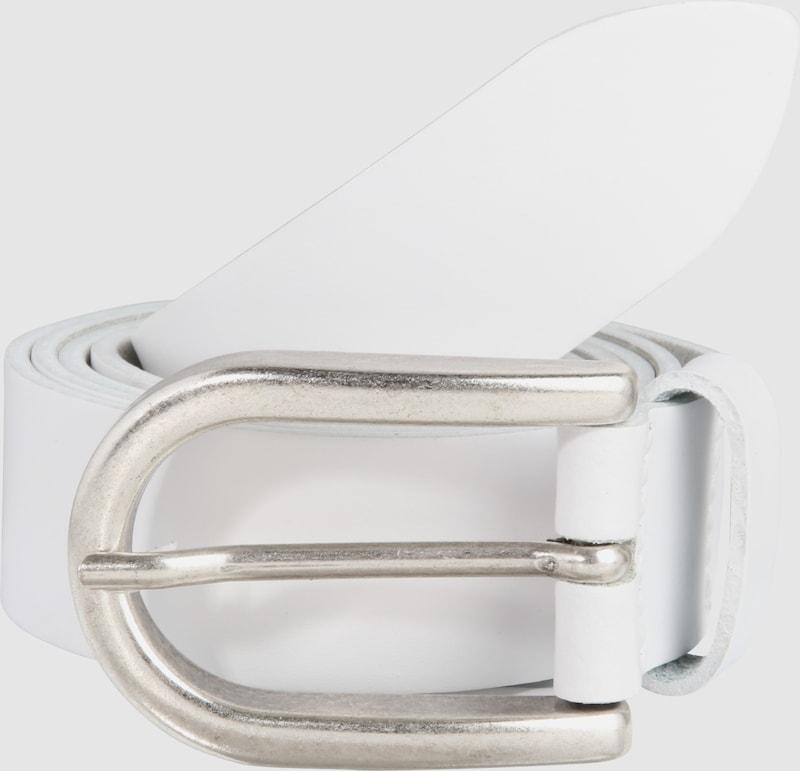 VANZETTI Ledergürtel mit Metallschließe