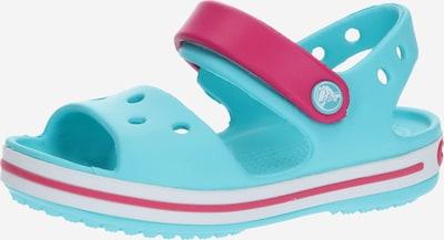 Crocs Sandale 'Crocband' in türkis / pink, Produktansicht