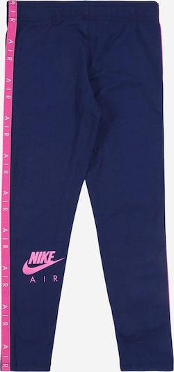 Nike Sportswear Leggings in dunkelblau / pink, Produktansicht