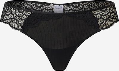 ESOTIQ String 'GOYA' in de kleur Zwart, Productweergave