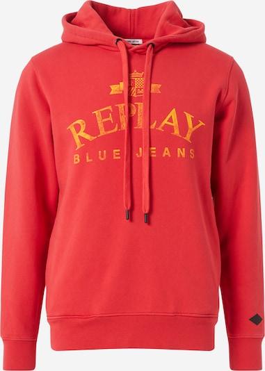 REPLAY Sweat-shirt en jaune / rouge: Vue de face