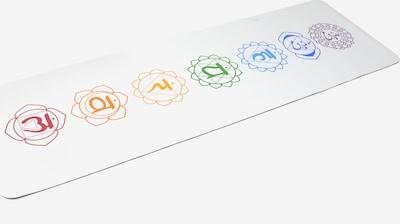 YOGISTAR.COM Yogamatte 'Pro Art Collection' in weiß, Produktansicht