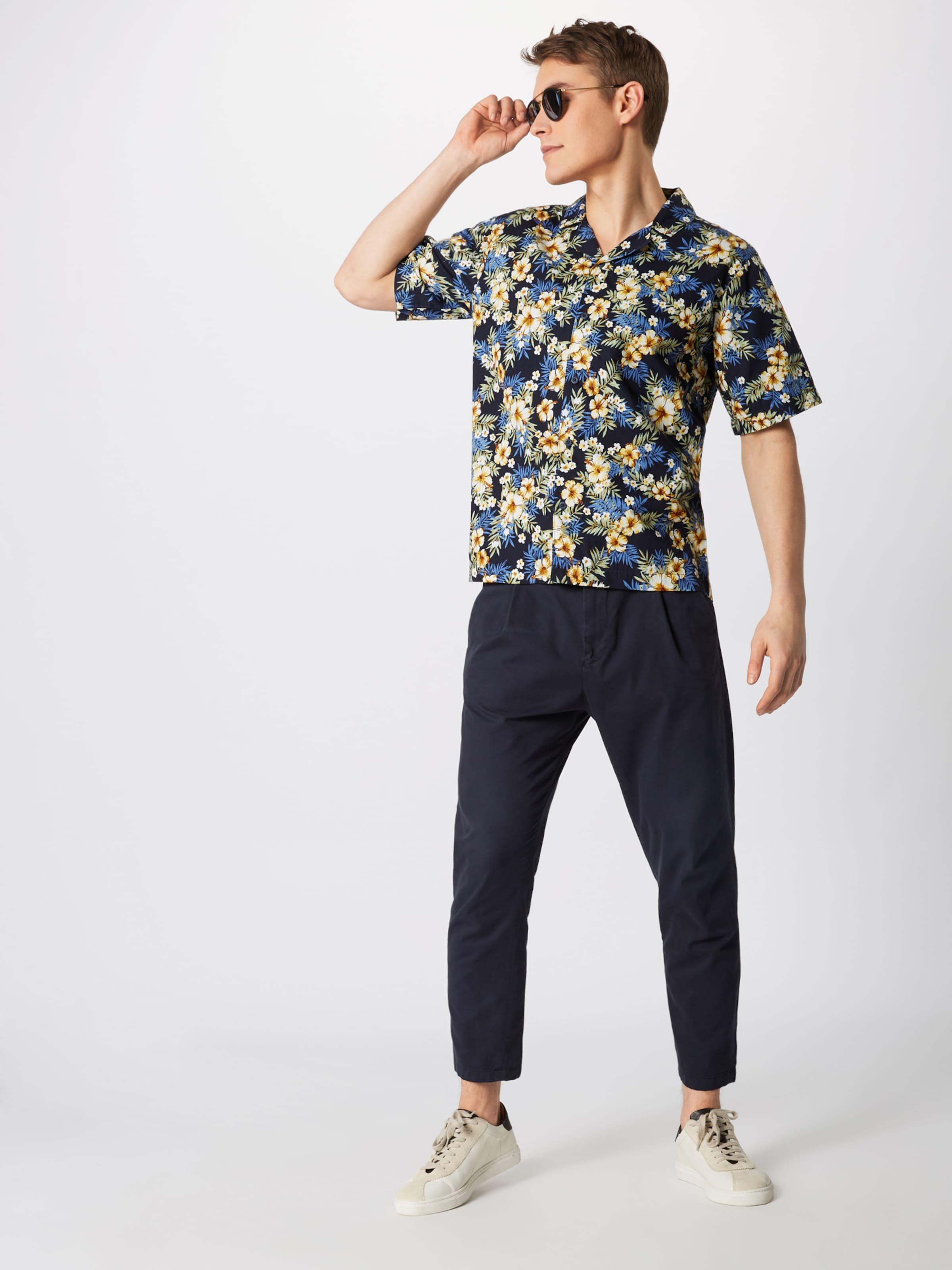 En Couleurs 'pattern De Bleu CobaltMélange Urban Chemise Classics Shirt' Resort Y6byIf7gmv